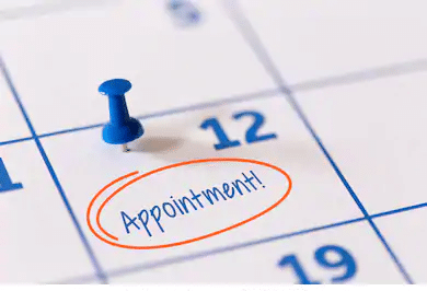 why do you need an appointment scheduled to submit your visa application ?